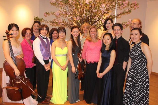 Spring Musicale performers. Photo: DAHA