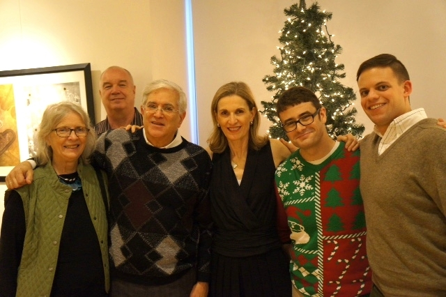 DAHA Performers and Board Members at Holiday Event. Photo Credit: Nancy Wight