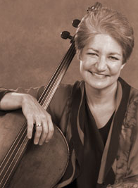 Marcy Rosen, Cellist. Photo Credit: Allen Cohen and Peter Checchia