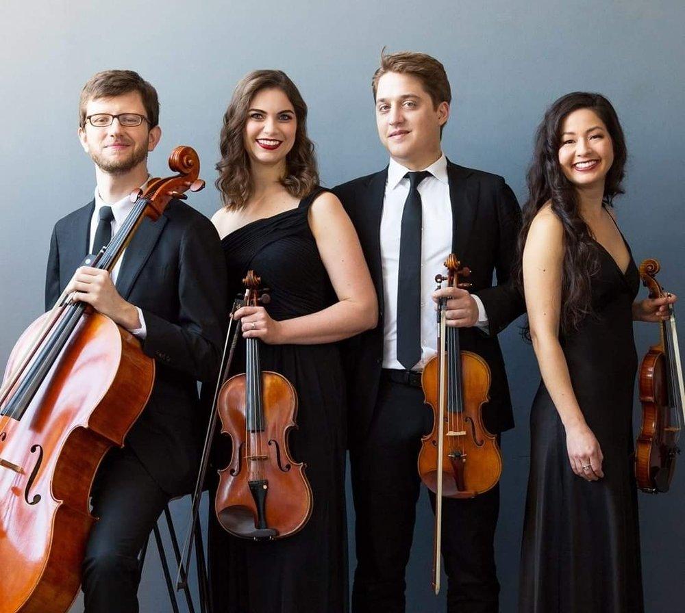 Aeolus Quartet, photo by Deborah Feingold