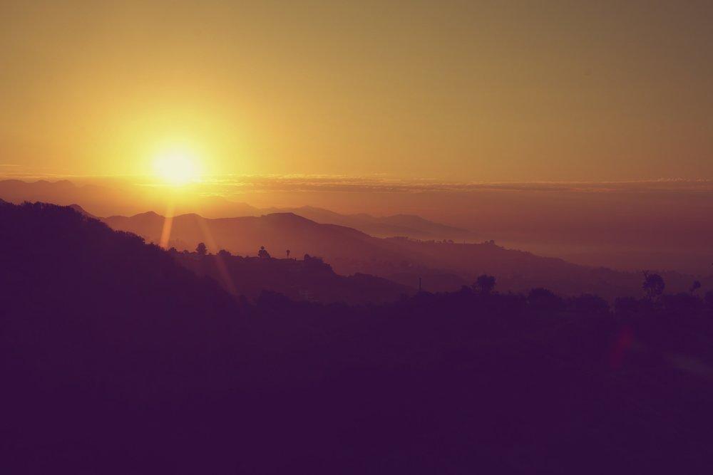 Sunset In Malibu