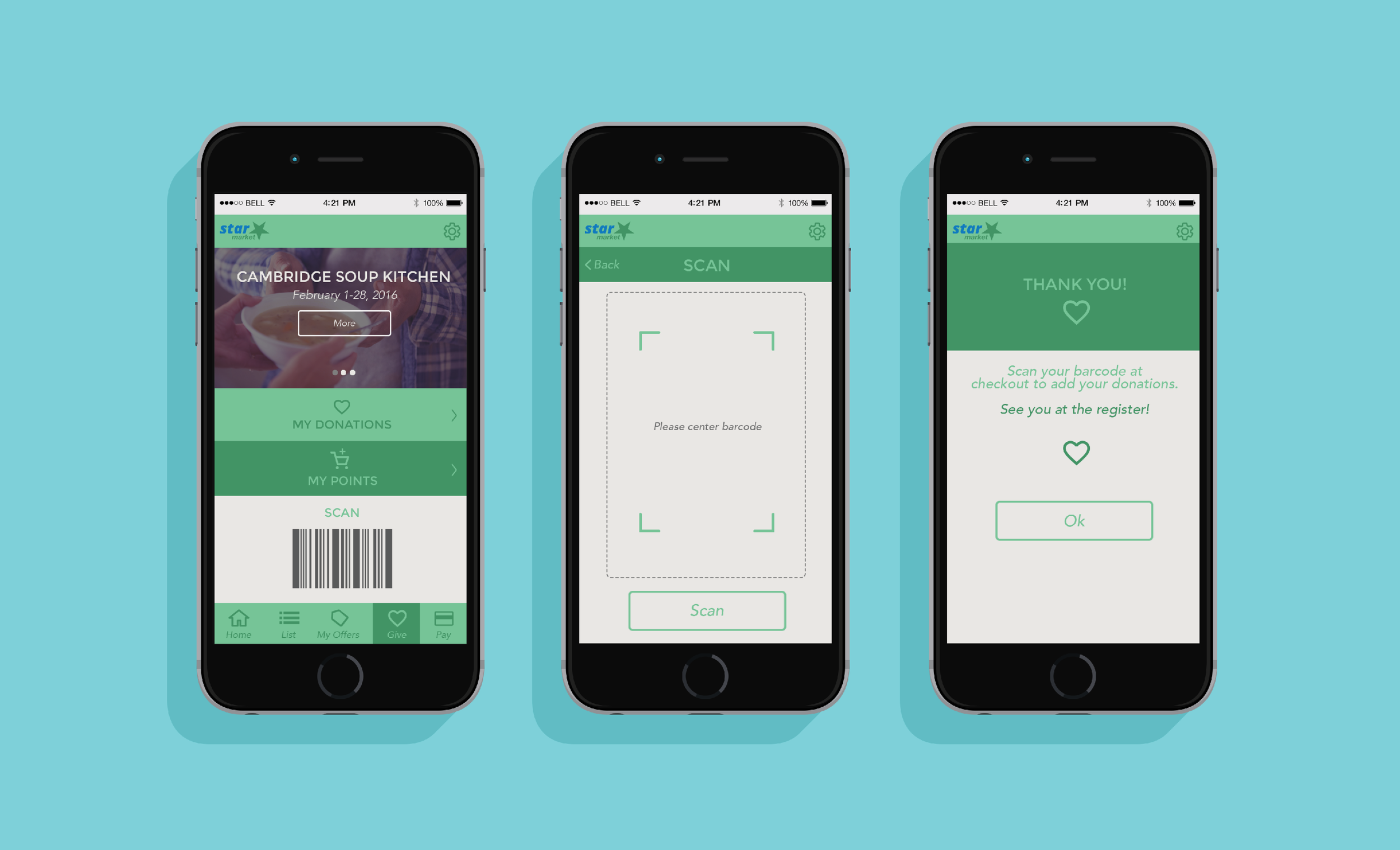 Give Grocery Store Donation App — Adrienne Pearson