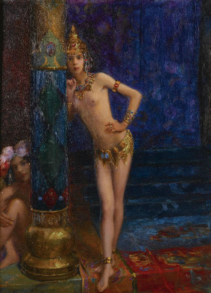 missfolly :      Two Dancers, byGaston Bussiere,1912