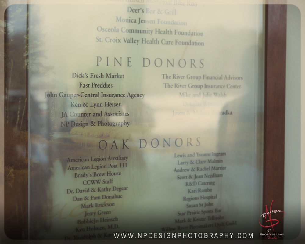 NPDP made it on the donation wall! What an honor!