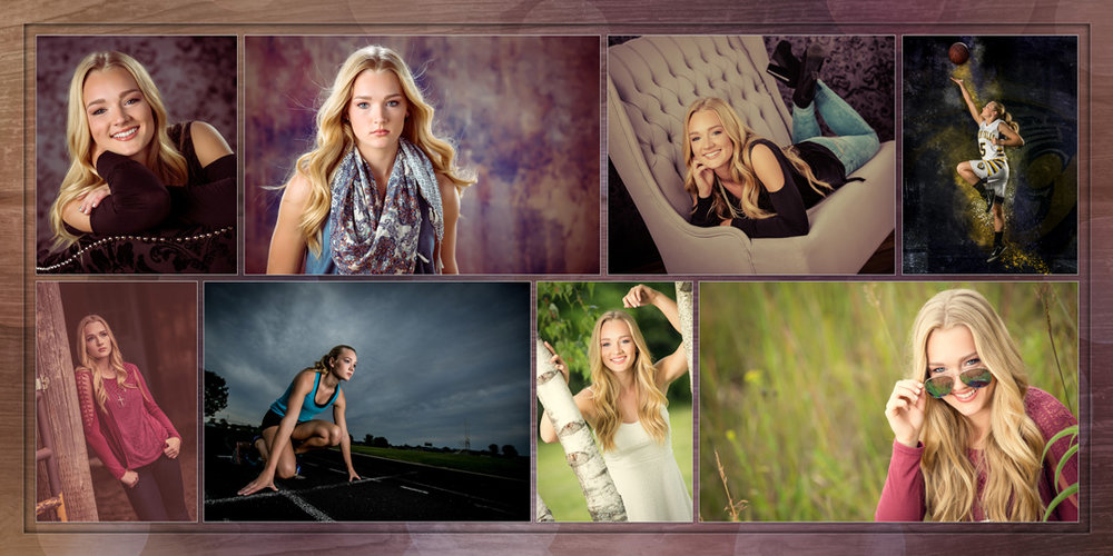High School Senior Client Tessa Rayne of River Falls photographed by Nate Peterson, CPP, M. Photog.