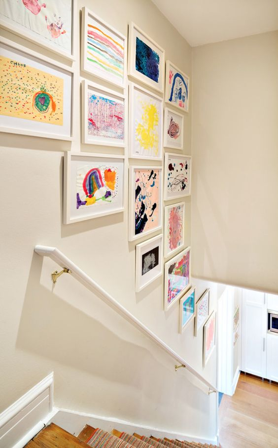5 Beautiful Staircase Displays — NP Design and Photographyx T f rr