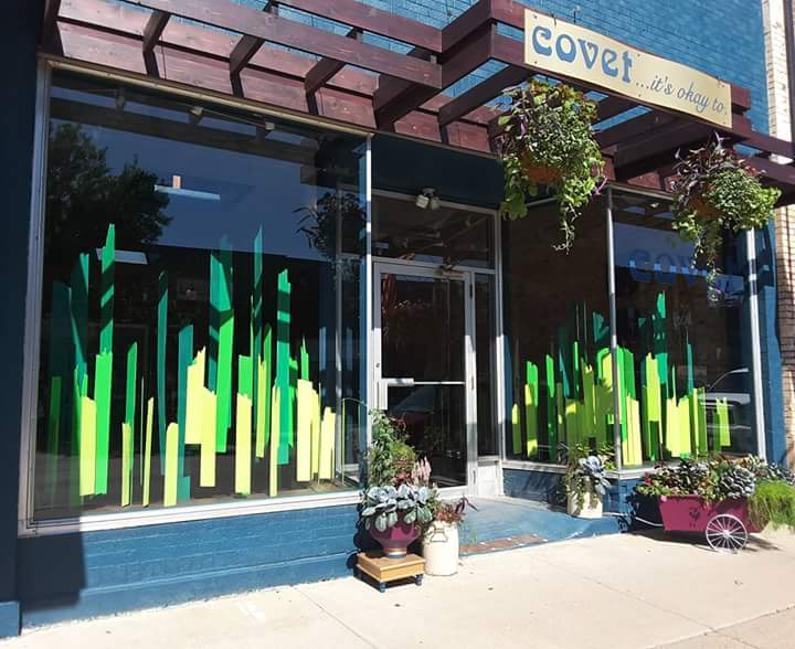 covet  is located on main street in downtown New Richmond, WI.