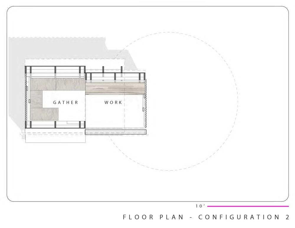 closed floor plan