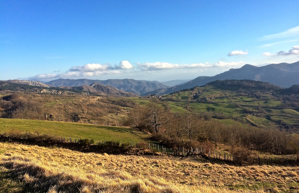 The Apennines of Emilia-Romagna.