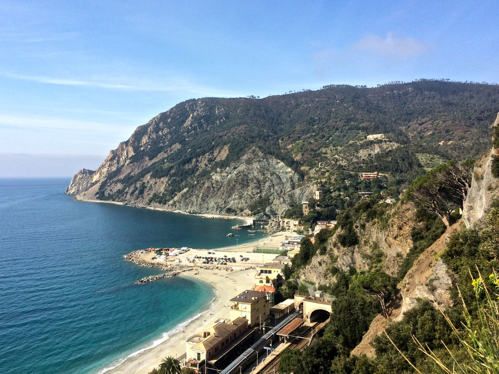 Looking back at Monterosso al Mare.