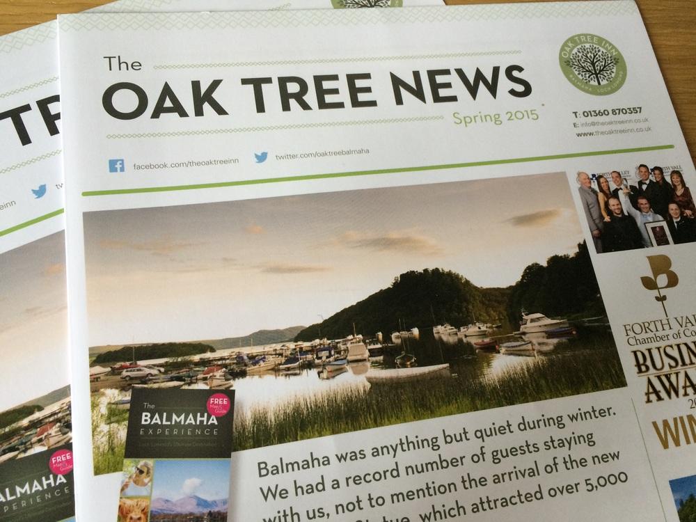 Oak tree inn news