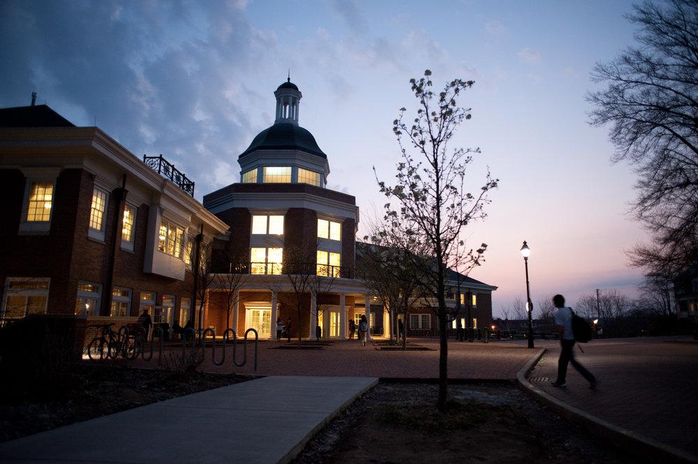 John Calhoun Baker University Center in Athens, OH.