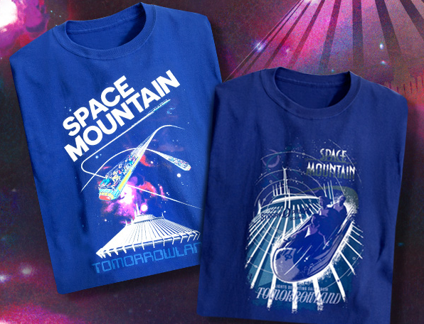 space mountain teeshirt limited.png