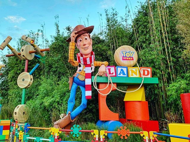Loved Toy Story Land. Didn't hurt that we did the Early Morning Magic and managed to ride Slinky 4X, Mania 3X and Saucers 2X. I recommend this event of it's your first time visiting for sure. This particular one did not seem oversold.