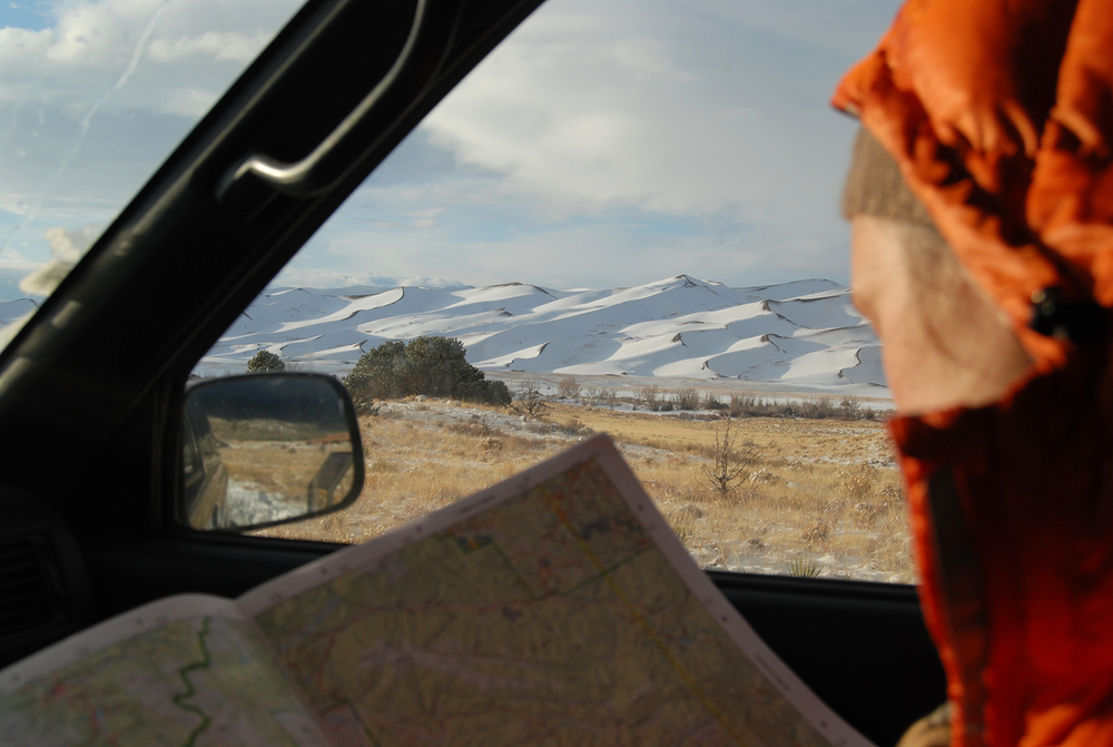 Planning the day's movements |  Great Sand Dunes National Park and Preserve | Colorado