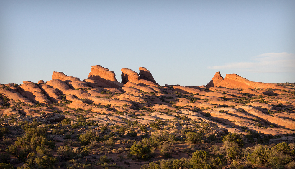 The back of beyond |  Arches National Park | Utah