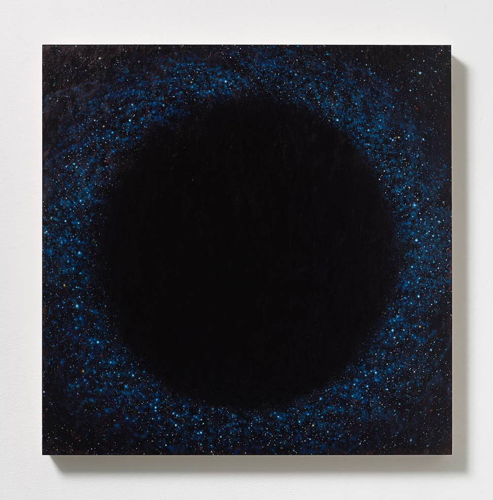 Peter Rostovsky   , Vortex 3,    2015  , Oil and acrylic on masonite  , 24 x 24 in.