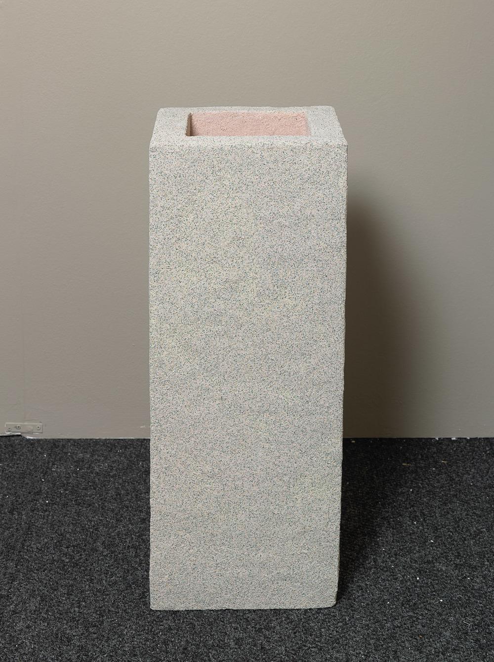 Rachel Higgins   , Organizer   , 2015  , Polystyrene, fiberglass, cement, cerastone  , 34 x 12 x 12.5 in.