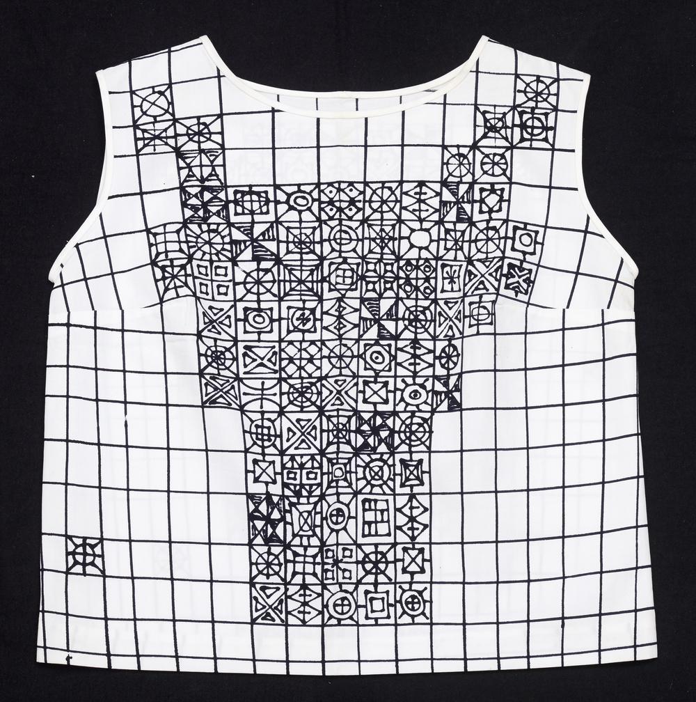 Aase Seidler Gernes, Blouse,ca. 1960, Cotton