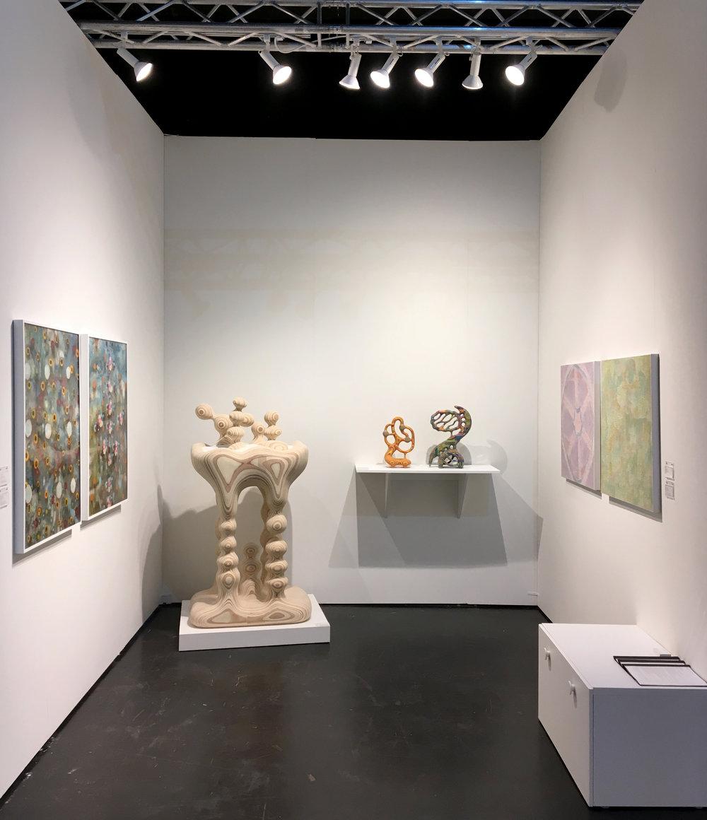 NADA Miami Beach, Dec. 5-9, Ice Palace Studios, Miami, FL, Booth 2.11 - Artists: Nadia Haji Omar, Giacinto Occhionero, Bayne Peterson
