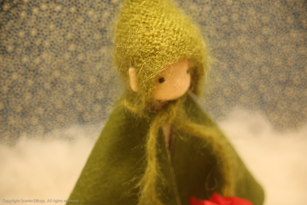 Knitting Pattern For Kindness Elves : They Are Mystical Beings...   Scarlet Elfcup