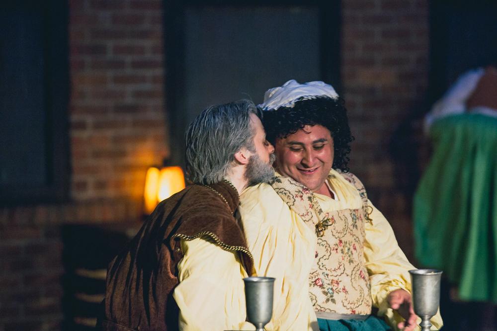 Jonathan Hopkins as Falstaff, Sam Reiff-Pasarew as Doll