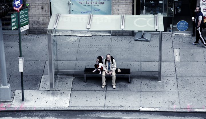 bus stop series b-27