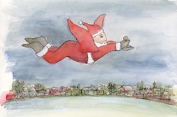 Flying Santa, Bringing Peace