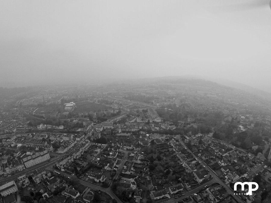 Aerial over Bath
