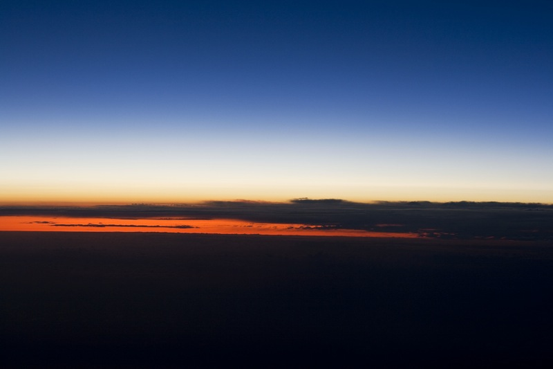 Sunrise Over the Pacific (Pacific Ocean)