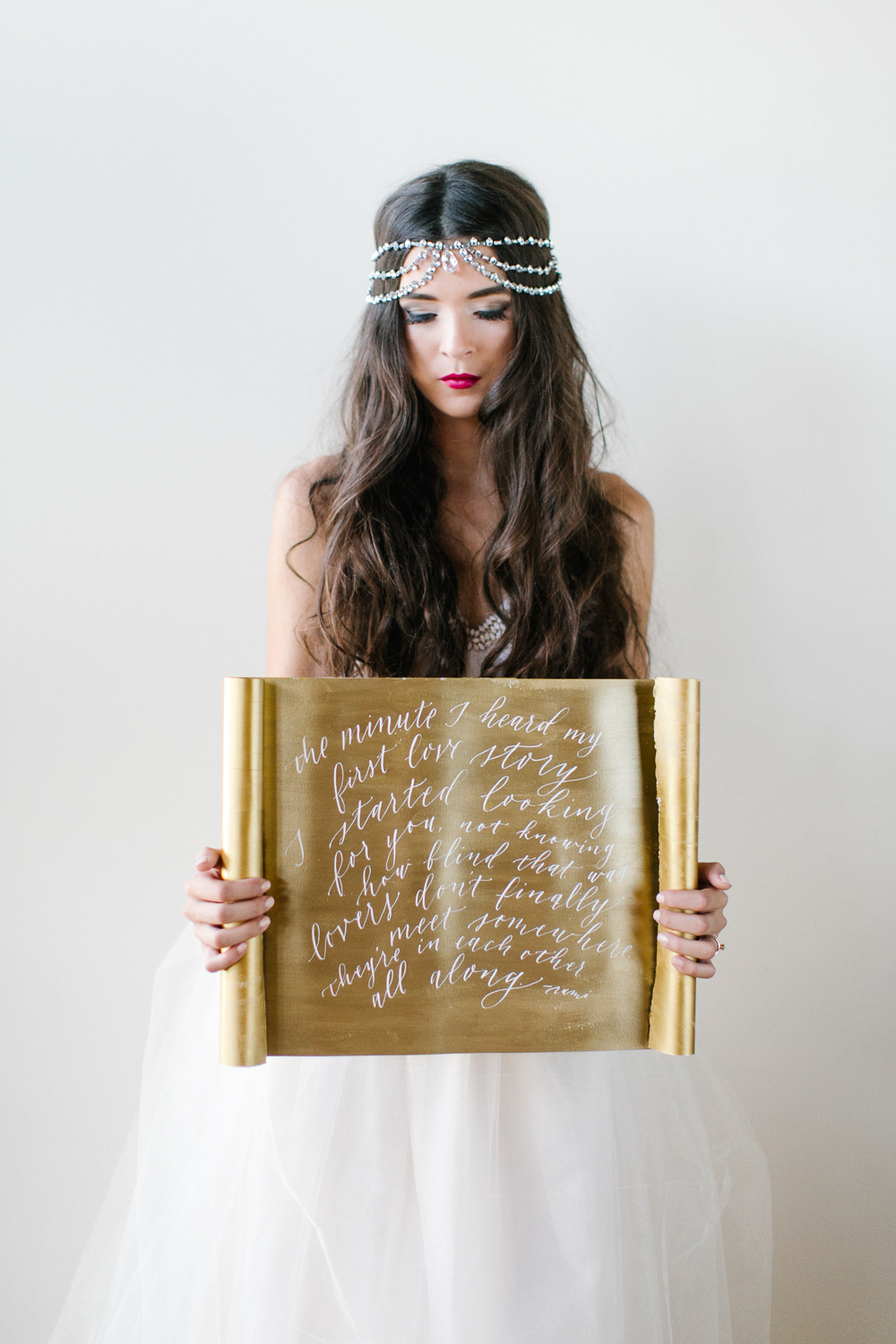gold-and-green-gorgeous-wedding-calligraphy-1