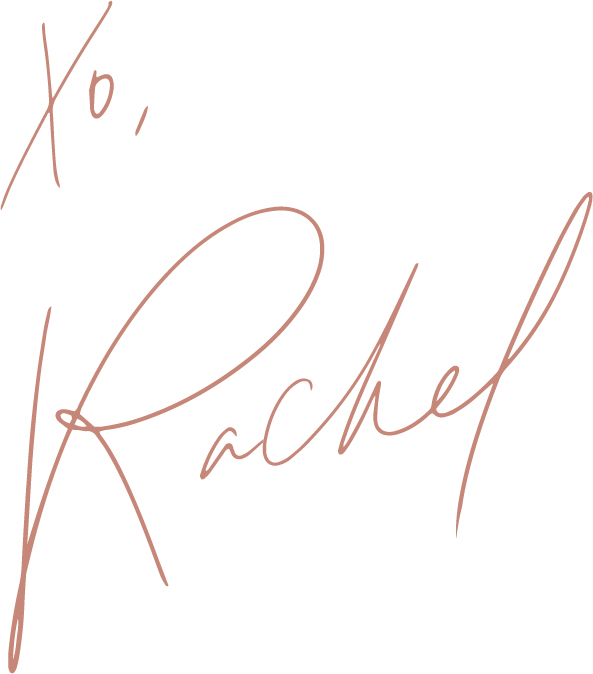 xo, Rachel rose gold signature.jpg