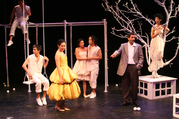 "2006 - Claro in the cast of NAATCO's production of ""The Dispute"""