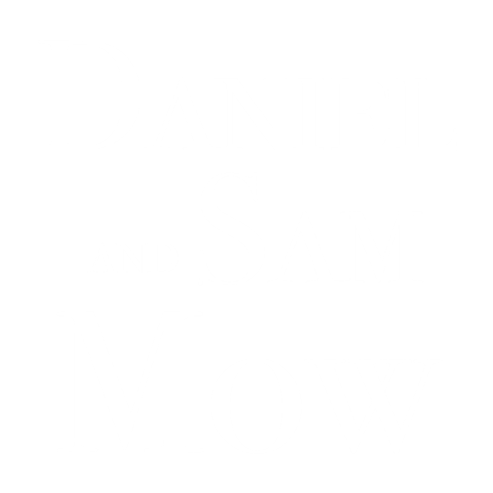 Daniel and Sam Mow