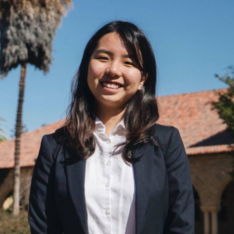Zhenqi Hu  is an On-Campus Programming team member at the Forum for American/Chinese Exchange at Stanford. A freshman, she is a native of Singapore.