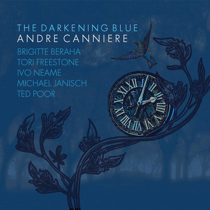 Andre Canniere  'The Darkening Blue' released 2016