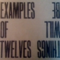 Riaan Vosloo's Examples of Twelves  Things will Be released Aug. 2011