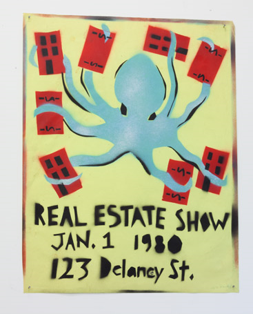 Becky Howland,  The Real Estate Show  Poster, 1980