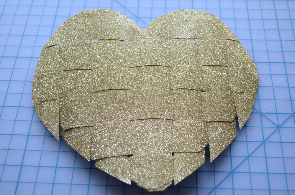 Warp or Weft: DIY Valentine's Day Heart woven from paper