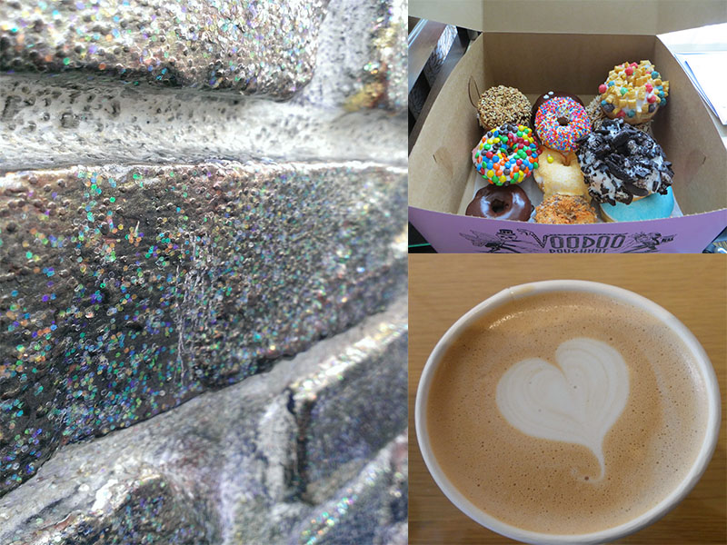 Warp or Weft: Portland Visit to Voodoo Doughnut and Stumptown Coffee