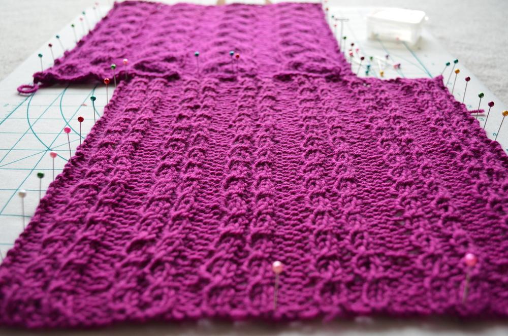 blocked yarn squares / warp or weft / warporweft.com