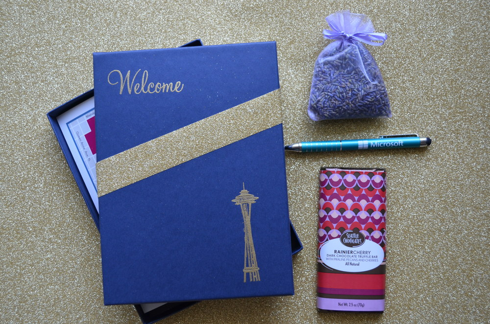 DIY wedding welcome bag / warporweft.com
