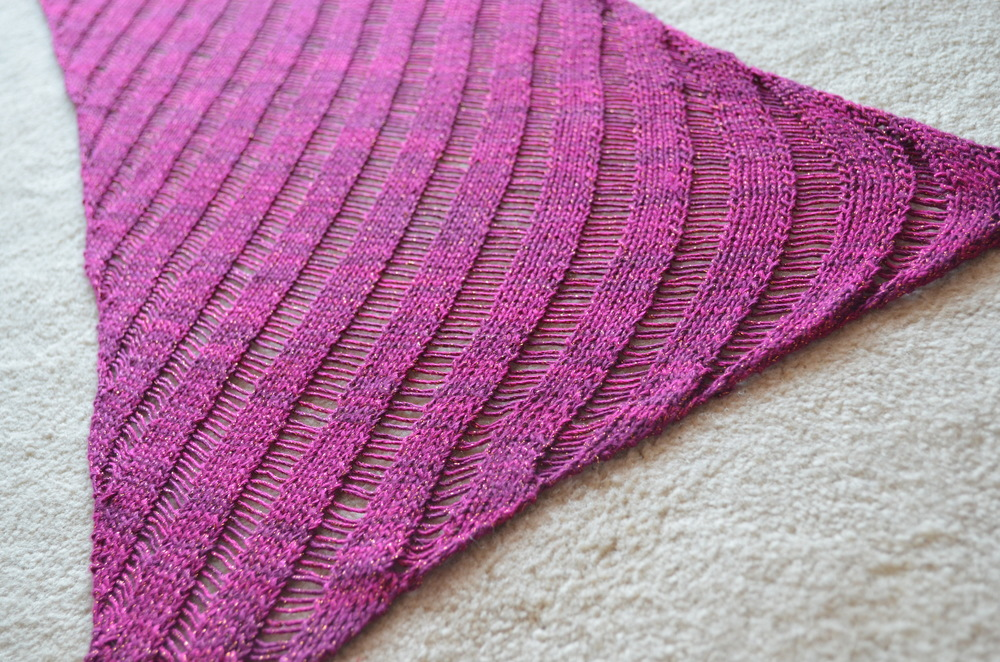 Clapotis / knitting / warporweft.com