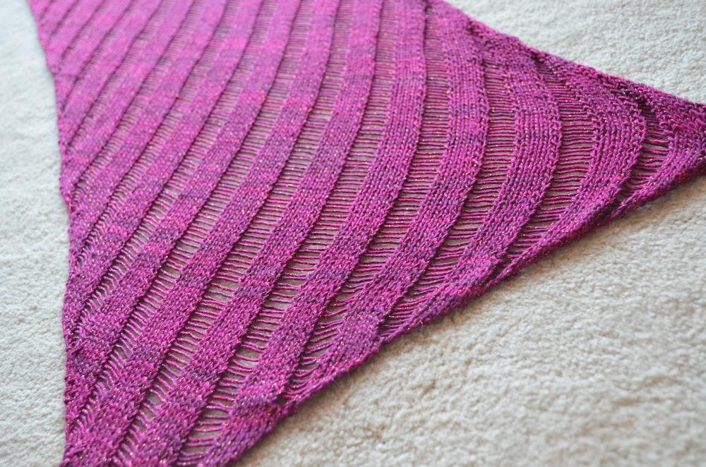 Clapotis / knitting / warporweft.com