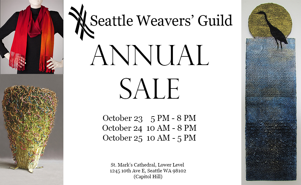 Seattle Weavers' Guild Annual Sale