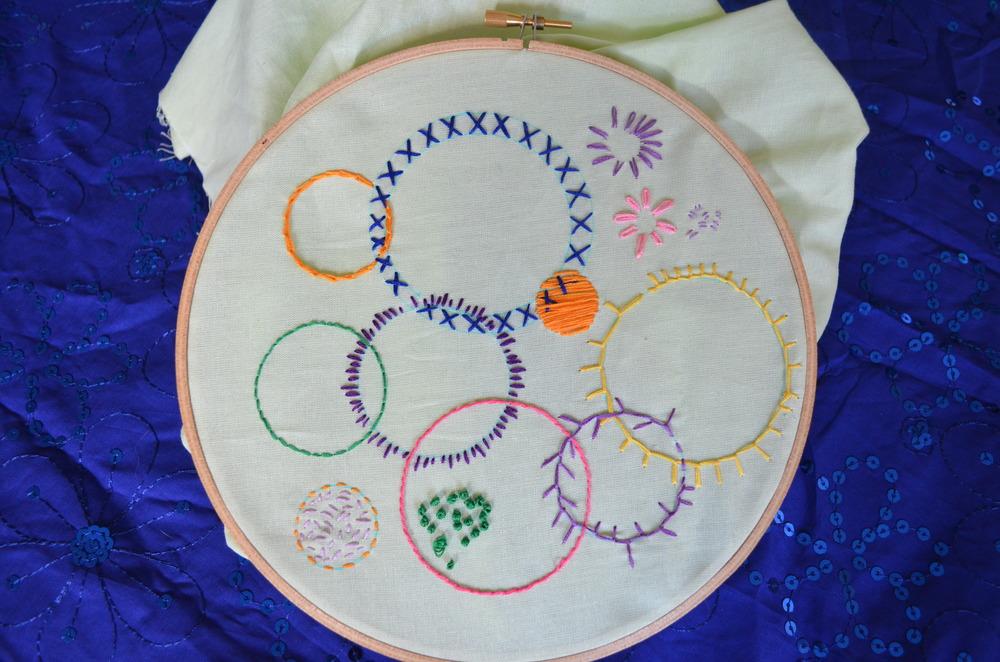 First embroidery attempt / warporweft.com