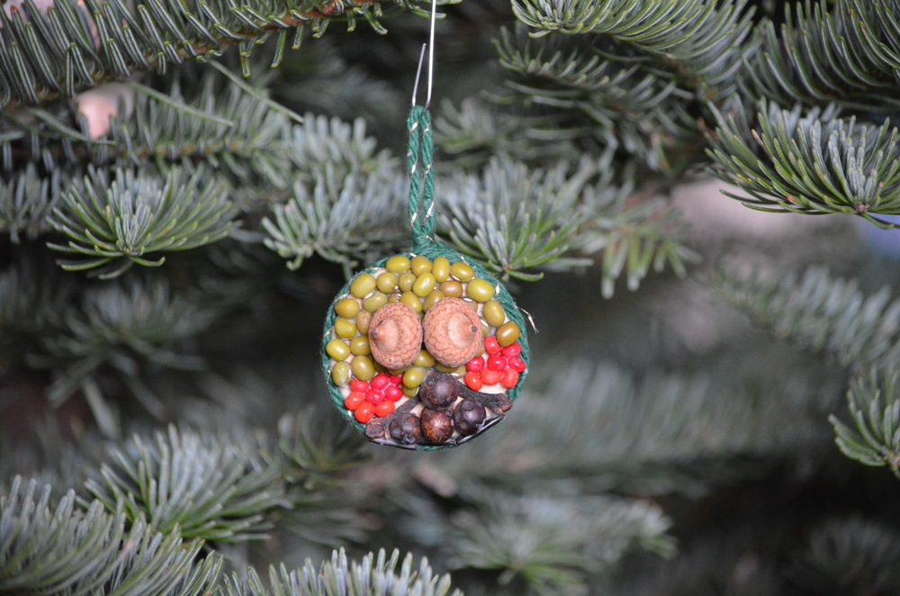DIY Christmas Ornament / warporweft.com