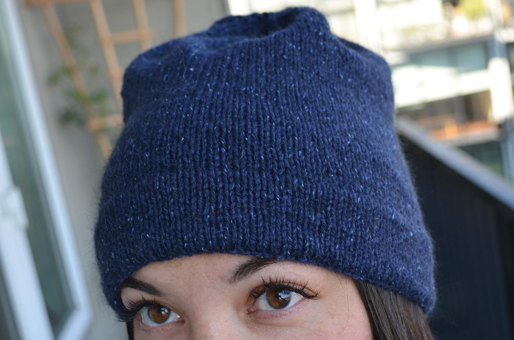 Knit hat / warporweft.com