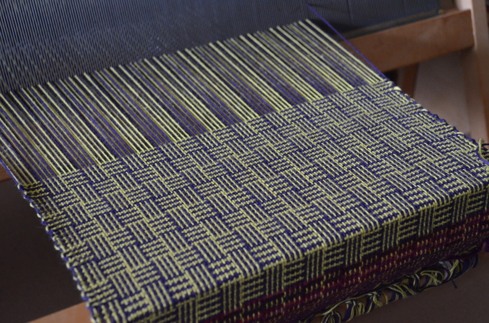 log cabin on the loom / warporweft.com