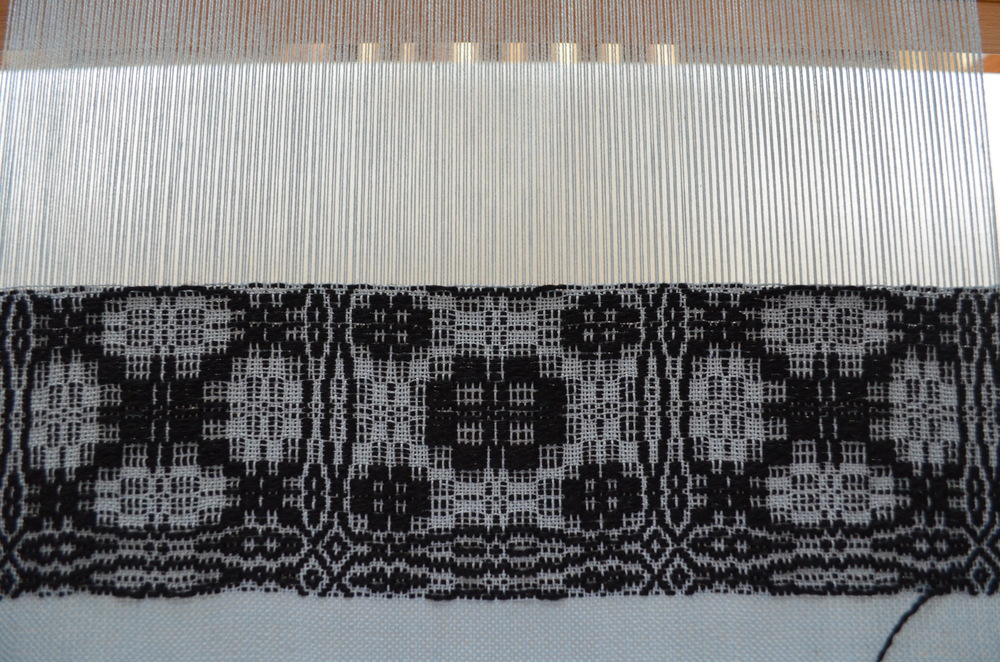 Overshot on the loom / warporweft.com
